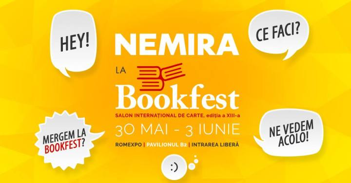 Nemira ne așteaptă laBookfest