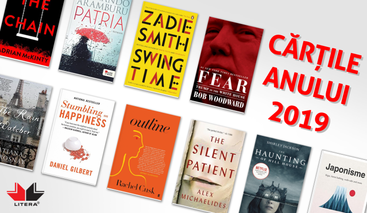 Cărțile anului 2019 de la EdituraLITERA